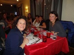 Evelyne Joye et Sandra Chies