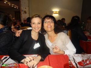 Erika Cheneaux et Fabienne Chautemps