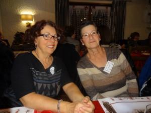 Josette Rivollet et Geneviève Ratisbonne