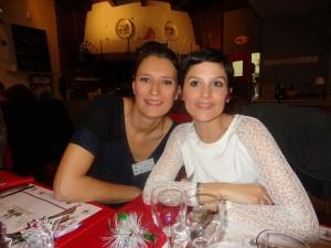 Isabelle Leboeuf et Aline Manus