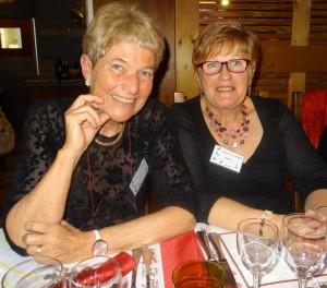 Paola Deschaux et Chantal Duvernay