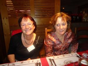 Janine Lechleider et Julia Laverrière