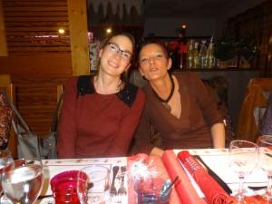 Géraldine Poulain et Patricia Humbert