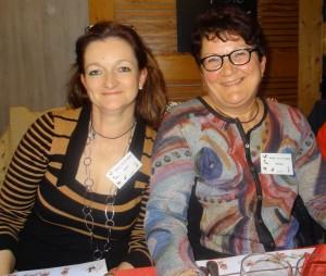 Annick Dalle -Rive et Monique Burnier