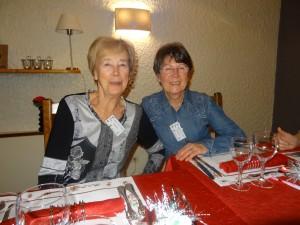 Madeleine Gerlier et Christiane Molliet