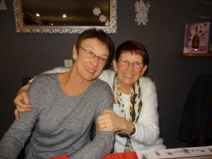 Michèle Tribet et Véra Murphy
