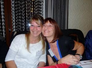 Sandrine Jouan et Cathy Pernet-Solliet
