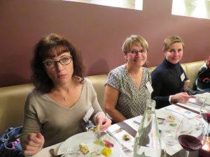 Fabienne Chautemps 4, Laurence Bréthous 4 et Carole Véloso professeur