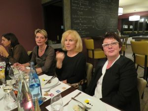 Laurine, Patricia, Léa et Isabelle