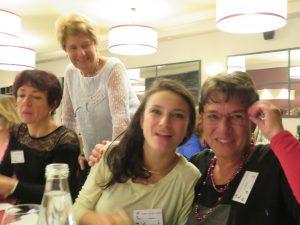 Lucie, Paola, Claudia et Catherine