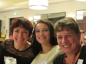 Lucie Gelloz 4, Claudia Chrysanthos 4 et Catherine Driancourt 4