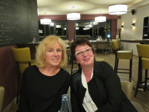 Léa Maire 4 et Isabelle Markovitch 9