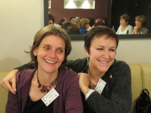 Chrystel Lemoine 9 et Sylvie Pascal 8